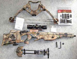 テンポイント社製クロスボウの組立例