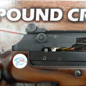 フルサイズクロスボウのリヤサイト修理(ダイヤル交換)